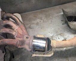 Где находится катализатор в автомобилях ВАЗ 2108 — 2115, ремонт и замена