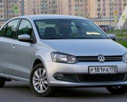 Отзывы о Volkswagen Polo 1,6 автомат с разными типами двигателя