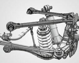 Особенности автомобилей с многорычажной подвеской