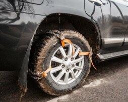 Браслеты противоскольжения на колеса автомобиля: обзор 10 моделей, отзывы владельцев  и цены