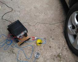 Как правильно оцинковать кузов авто батарейкой своими руками