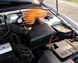 Автомобильный компрессор под капот: тонкости стационарной установки