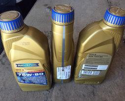 Замена масла в МКПП