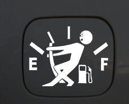 Наклейка на бензобак автомобиля: ТОП-4 лучших стикера