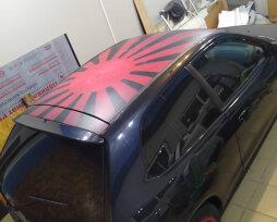 Наклейка на крышу автомобиля: ТОП-4 лучших стикера