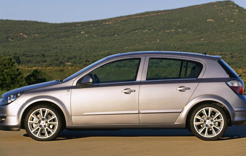 Отзыв о Opel Astra 2004 г.в.