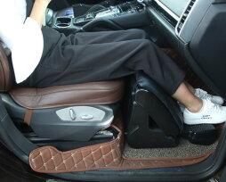 Подставка под ноги для детей в машину, упор для левой ноги водителя своими руками