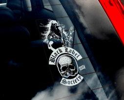 ТОП-7 лучших наклеек на черную машину