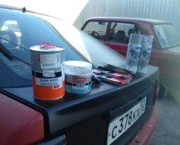 Номер краски для автомобиля ВАЗ