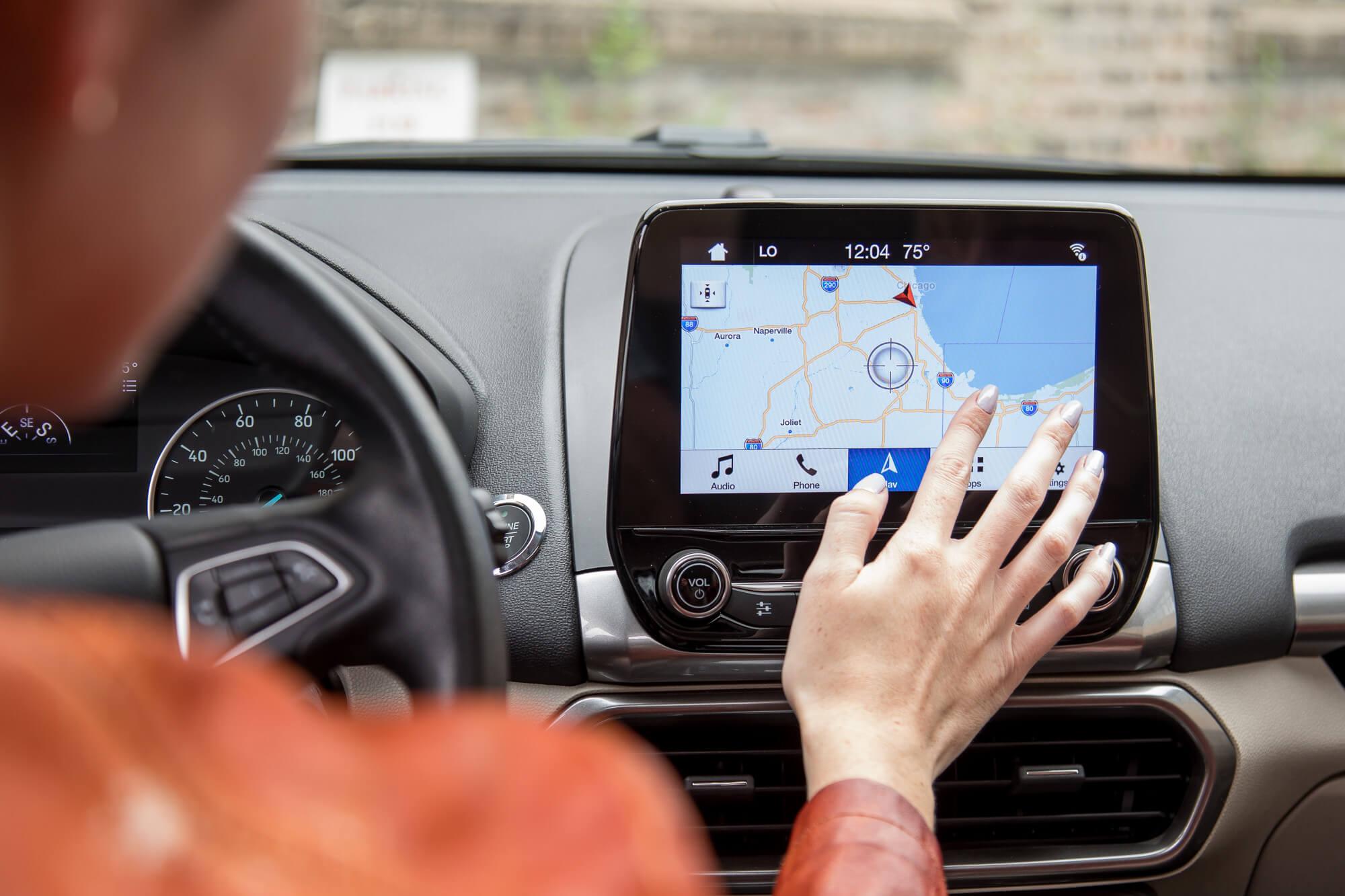 Американская технология GPS в автомобиле