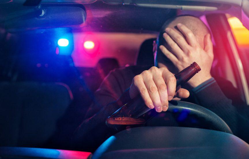 Водитель в состоянии алкогольного опьянения