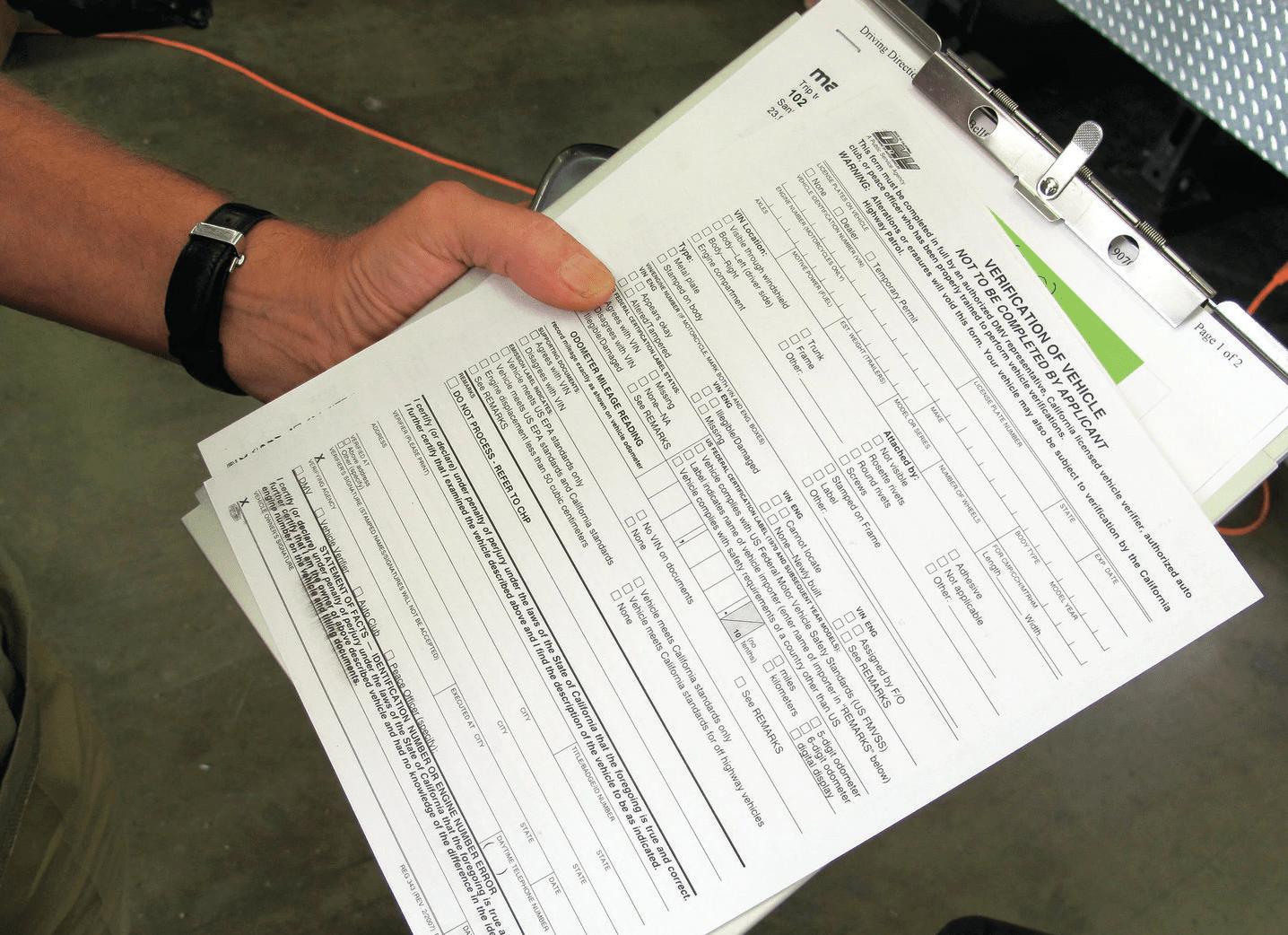 Государственная регистрация автомобиля