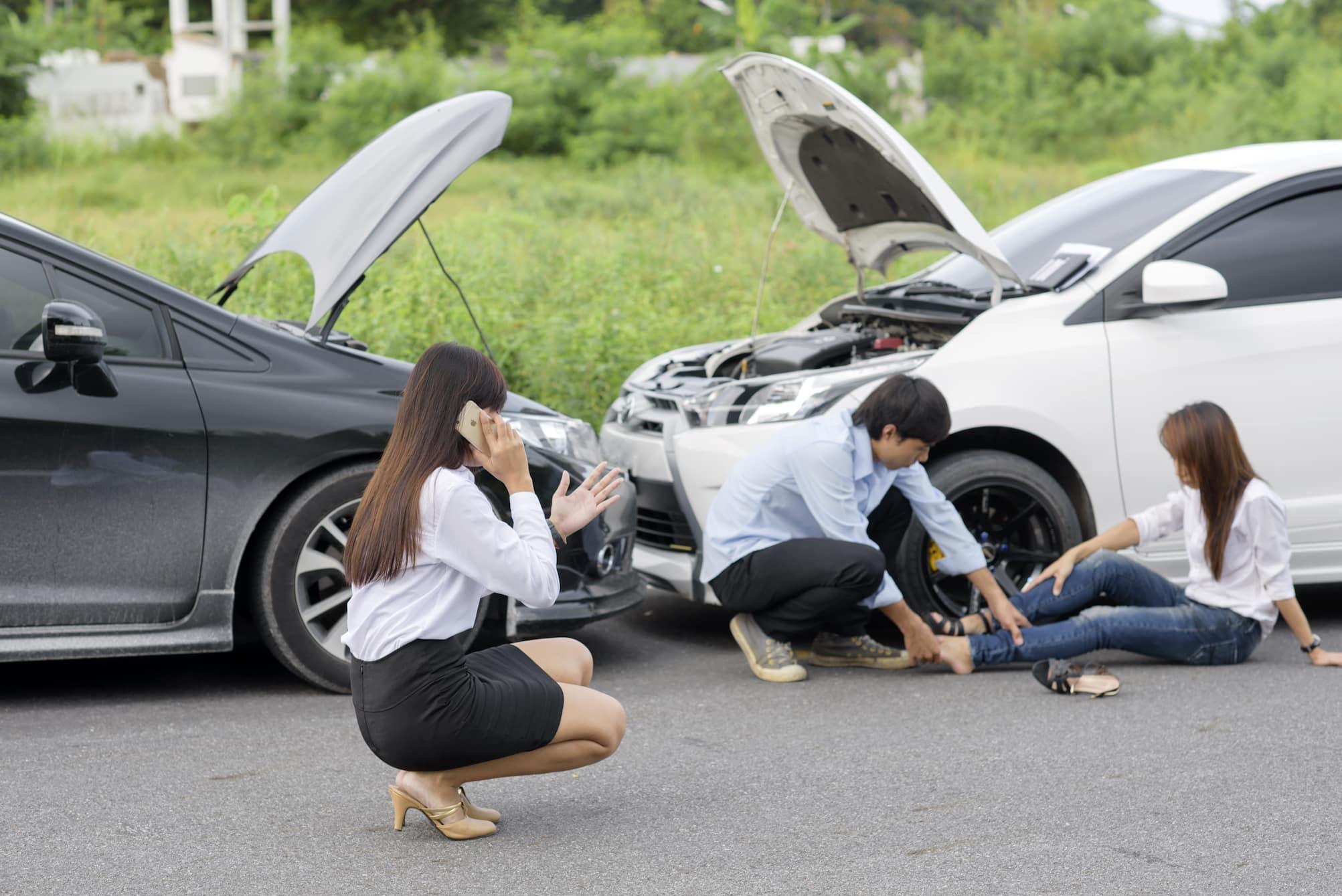 Как должен вести себя водитель, участник ДТП