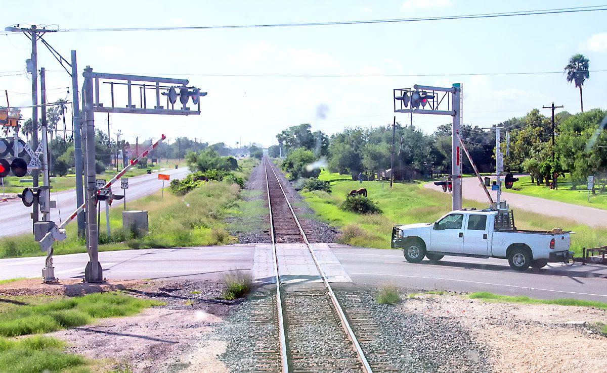 Пересечение железнодорожного переезда