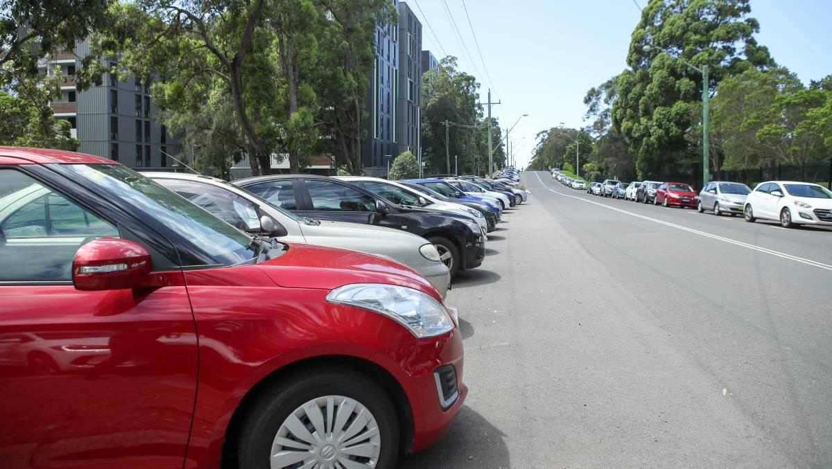 Платная парковка в городе