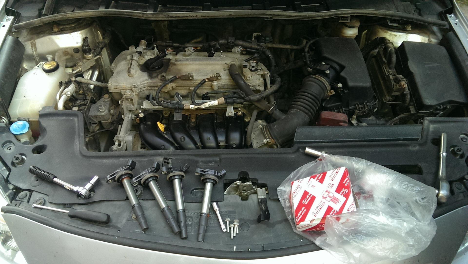 ремонт системы зажигания Тойоты Короллы