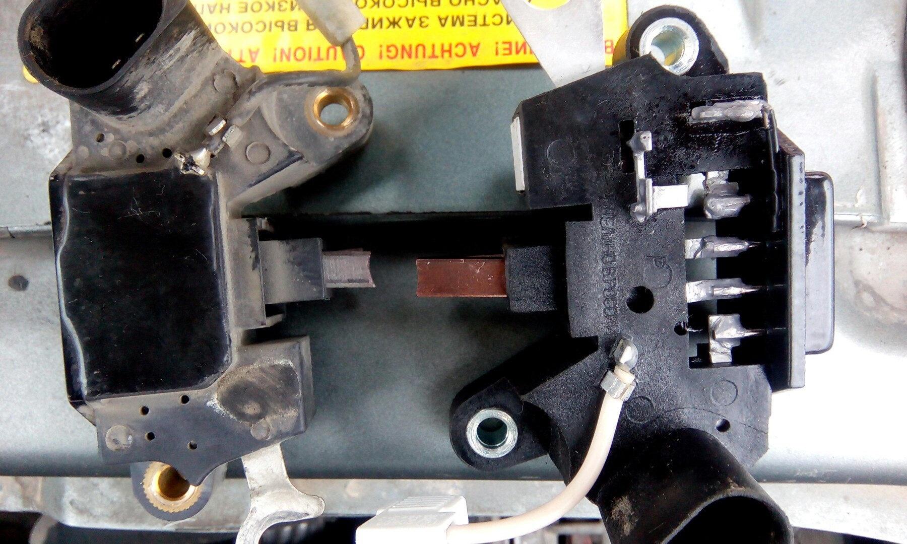 Щетки на генератор (с кондиционером)