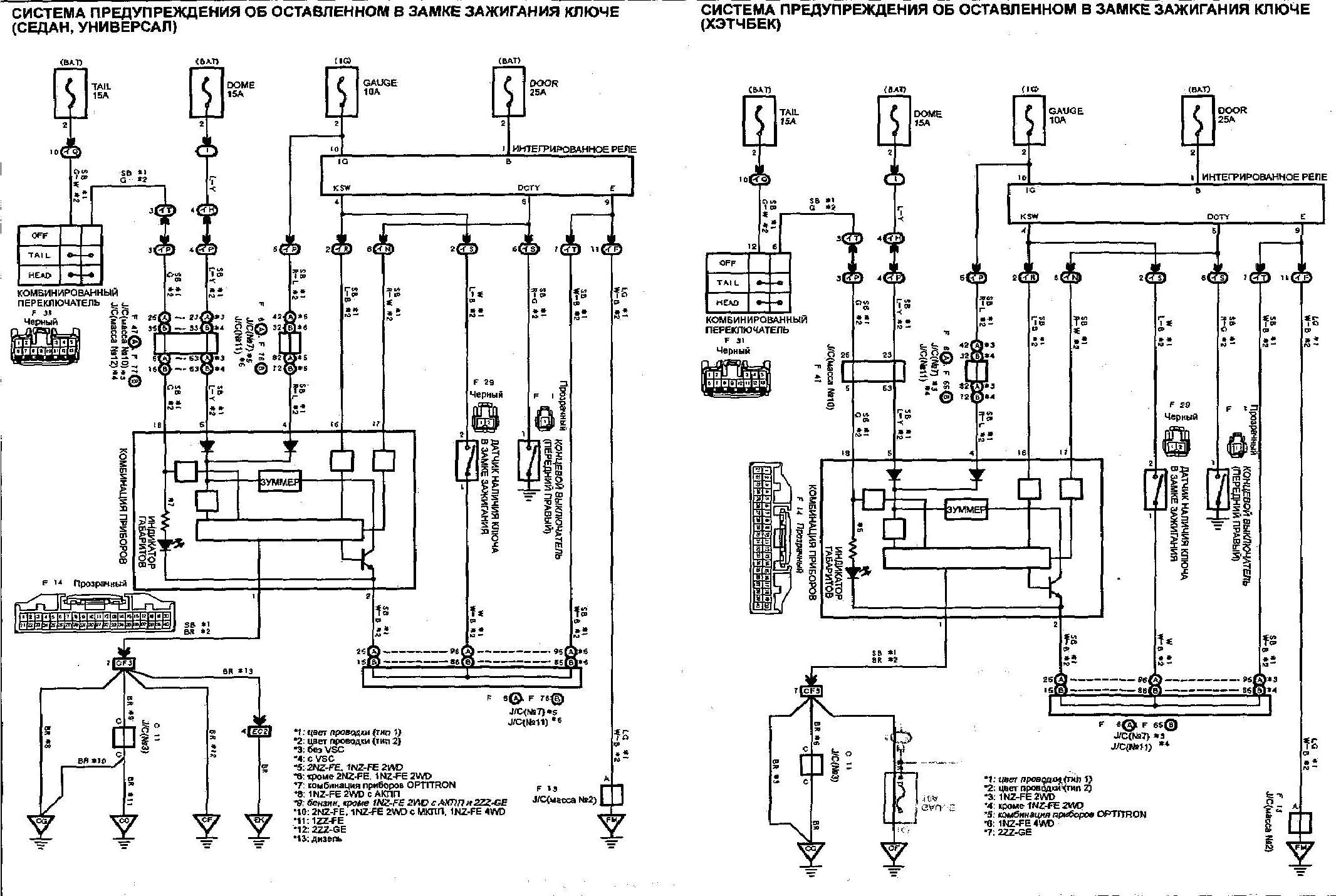 Система зажигания Тойоты Короллы