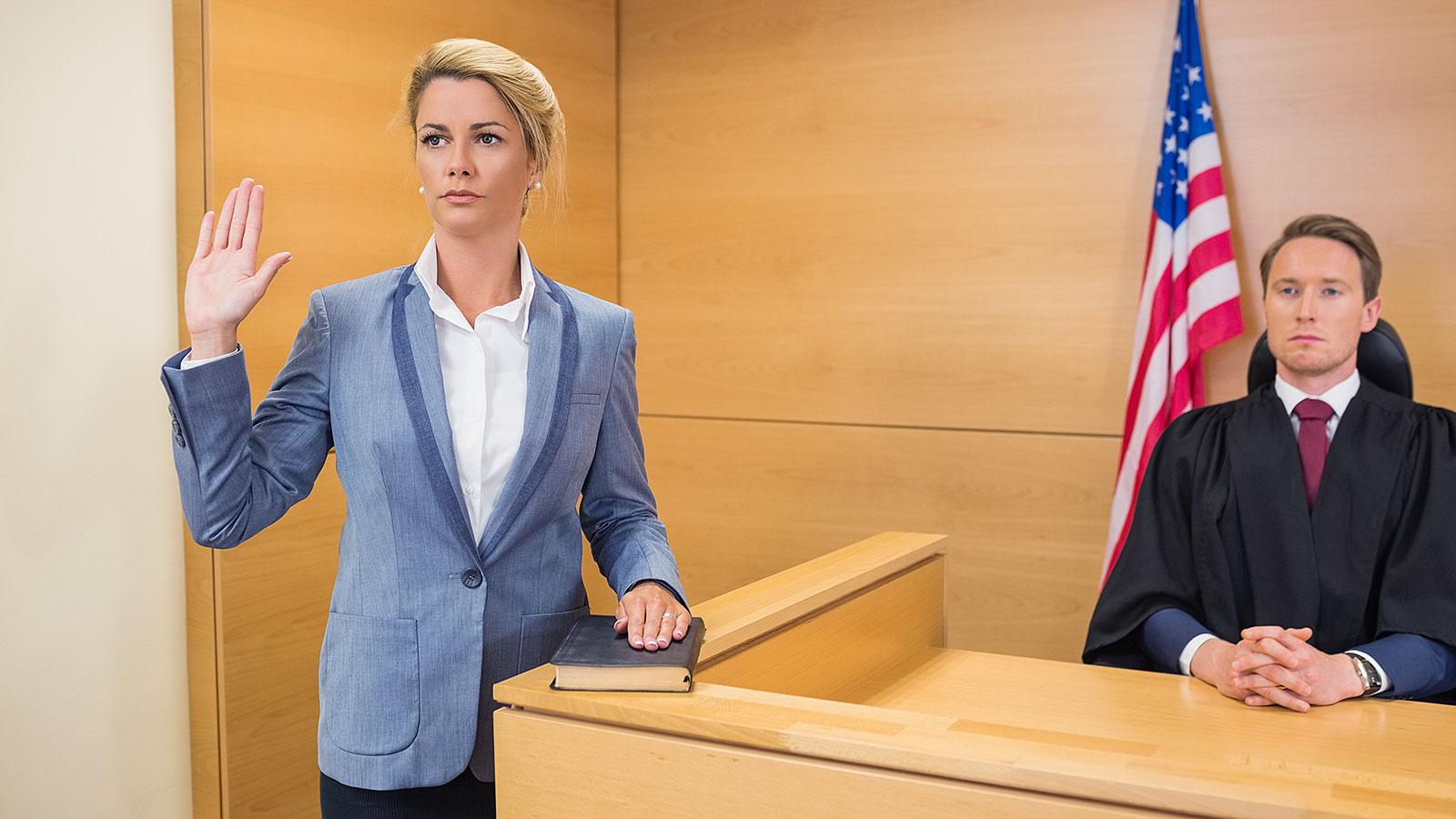 Свидетель в суде