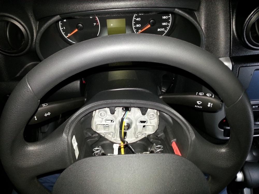 Подушка в руле