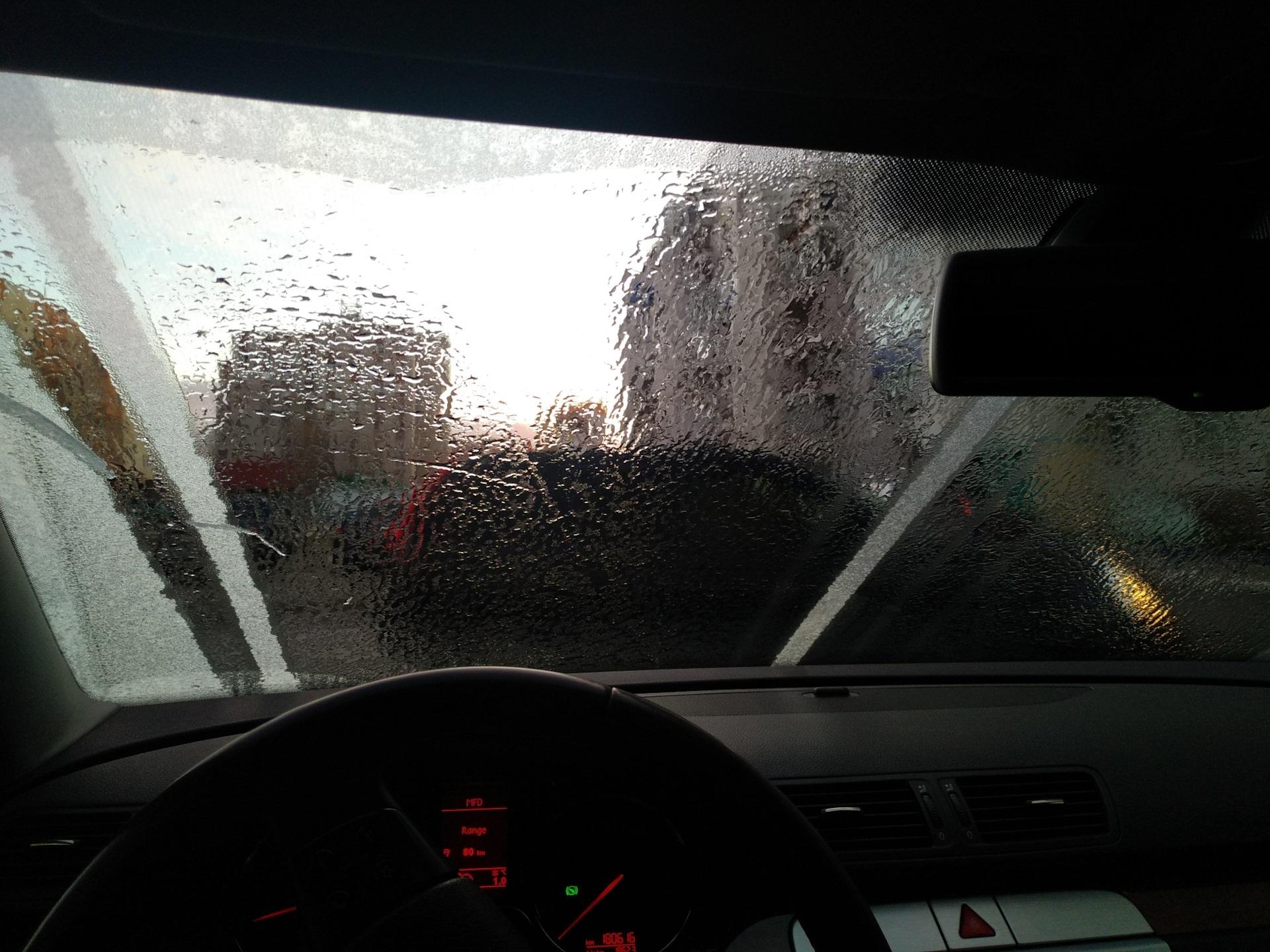 Обогрев ветрового стекла VW Passat