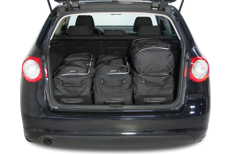 Вместимость багажника Пассата Б6