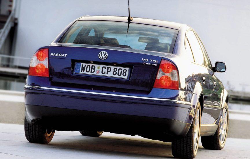 Volkswagen Passat B5 сзади