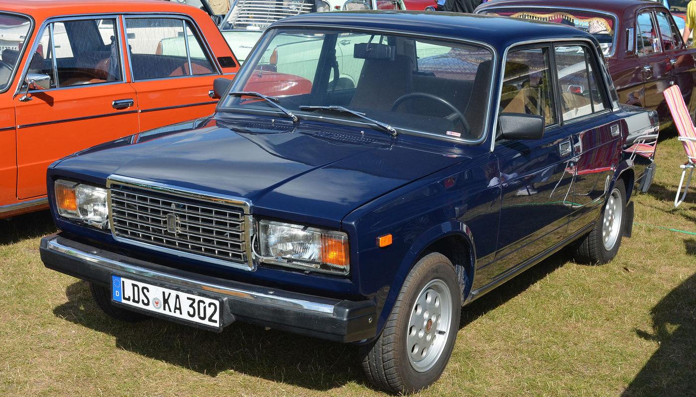 1982 г. – «ВАЗ-2107»