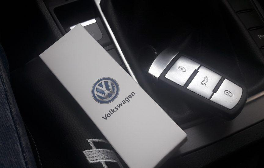 ключ volkswagen passat cc