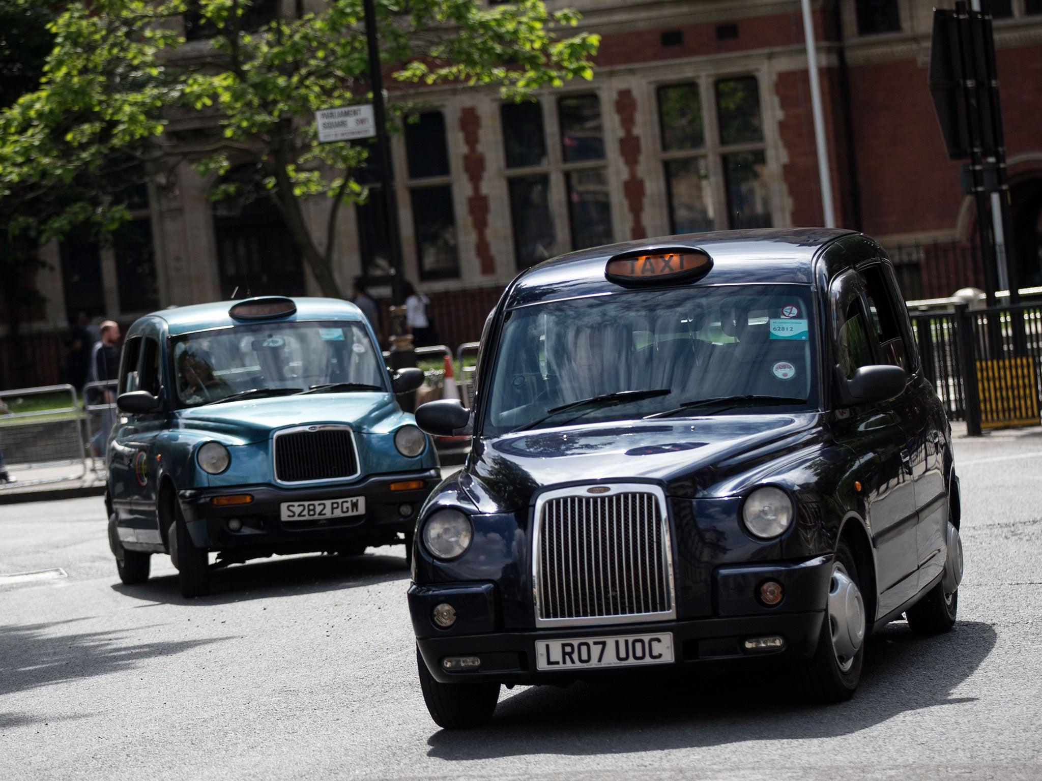 Лондонский кэб для такси
