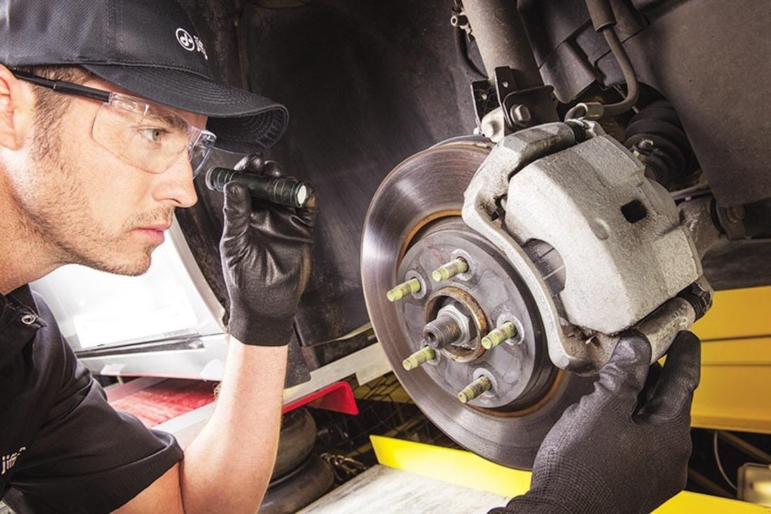 Проверка тормозной системы авто