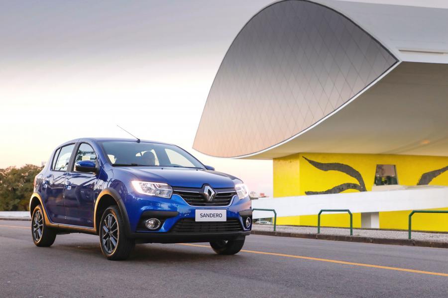 Renault Sandero, хэтчбек, 2019 года выпуска