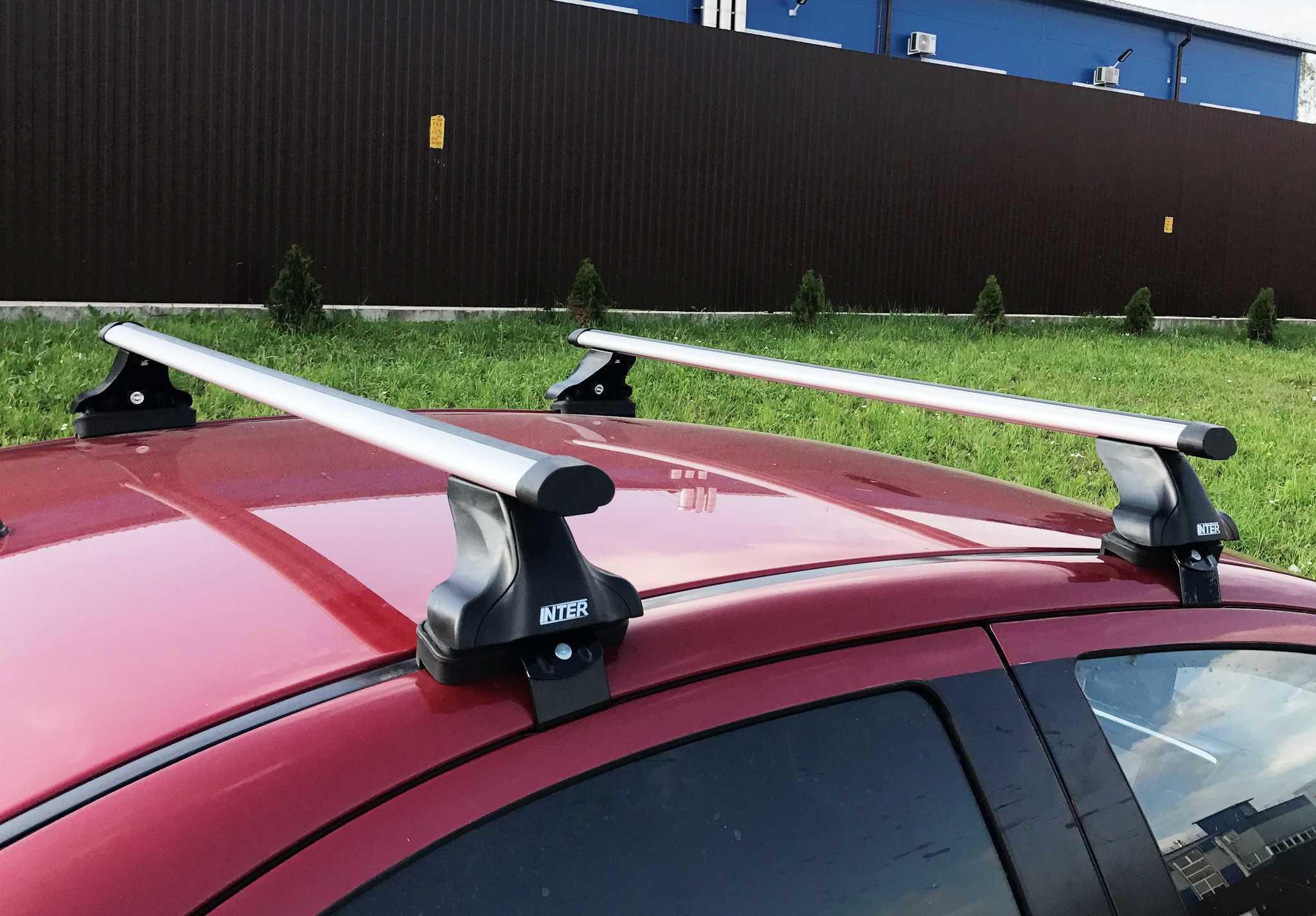 Аэродинамический багажник от Inter