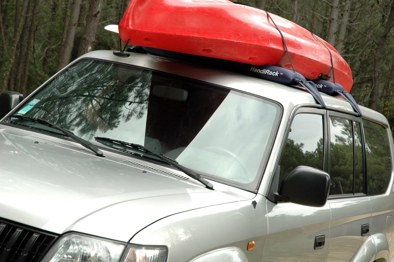 Автобагажник для перевозки лодок