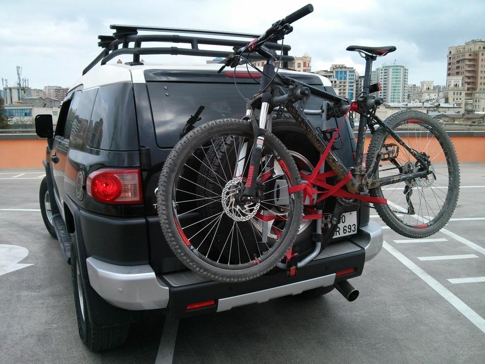 багажник для велосипеда на авто