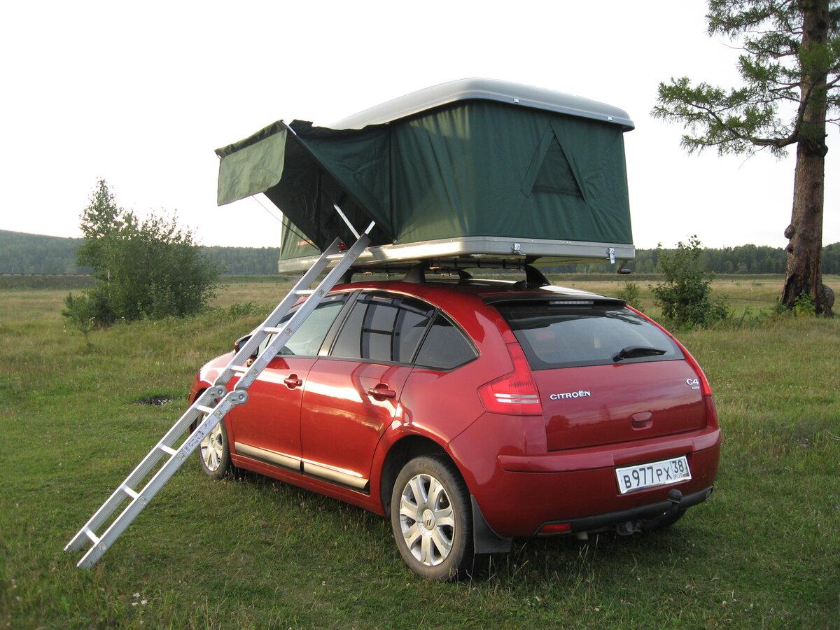 багажник-палатка