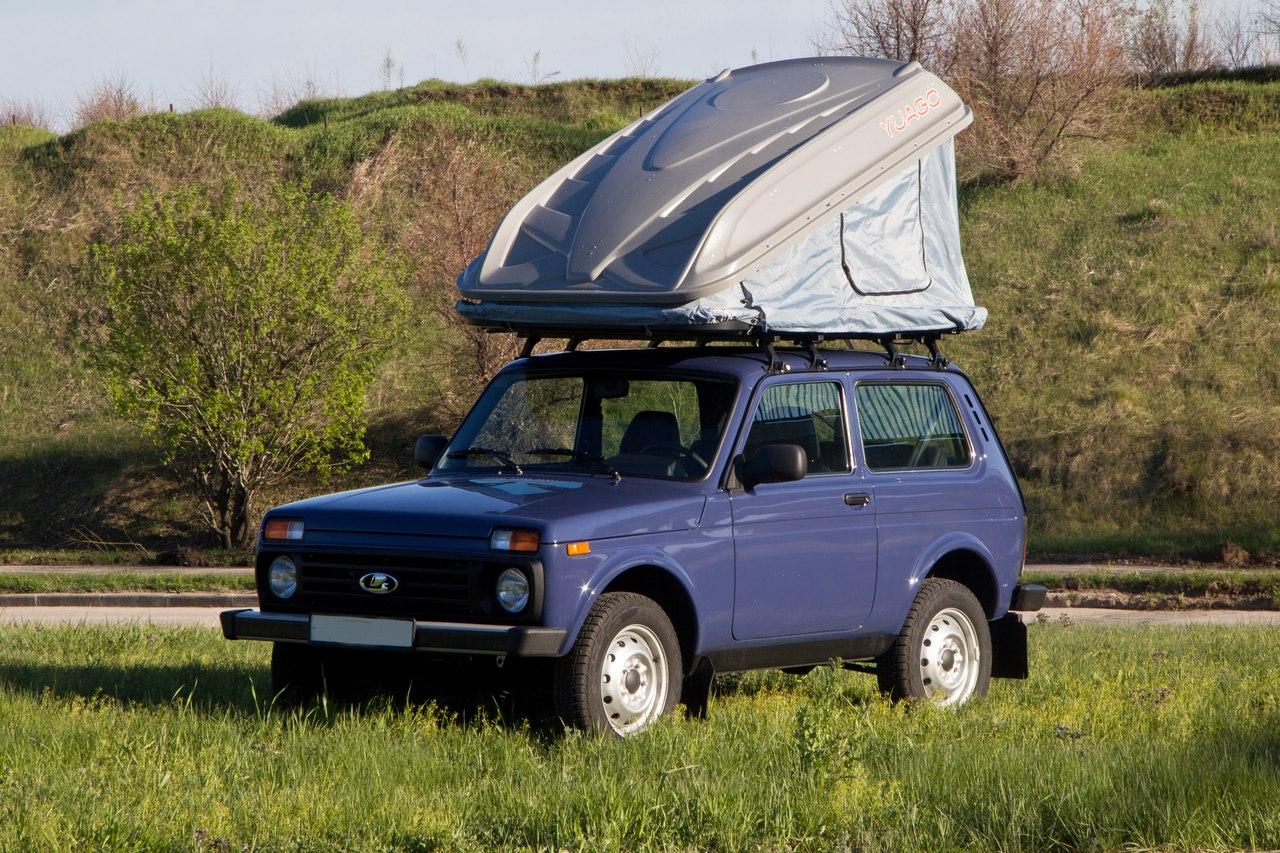 Палатка на крыше машины