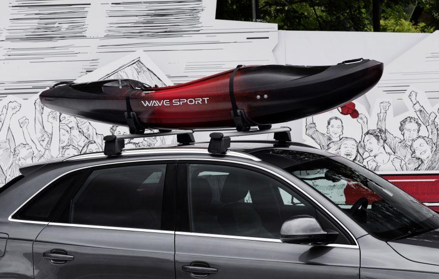 Багажник для каяка на автомобиль