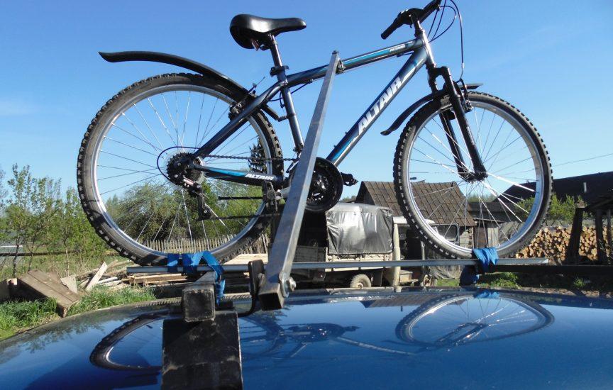 багажник для велосипеда на машину своими руками