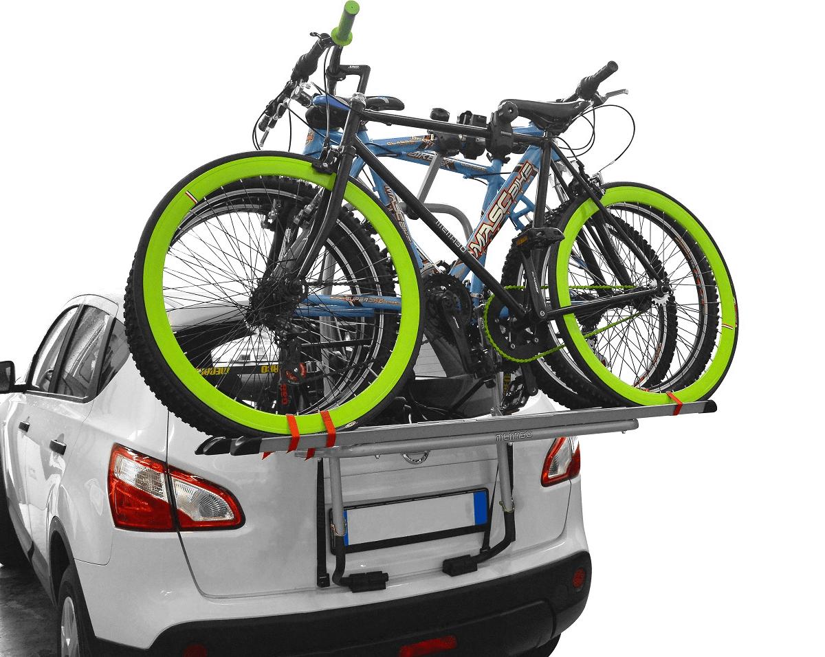 Багажник для велосипеда на заднюю дверь автомобиля