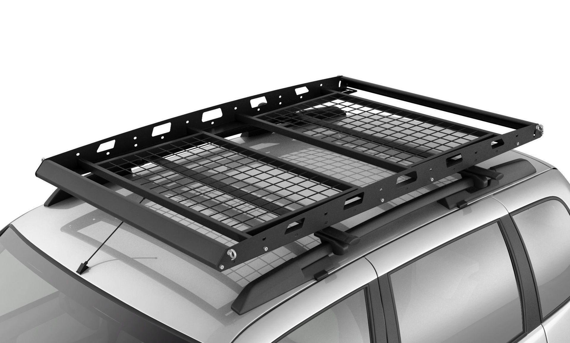 Багажник-корзина двухсекционная