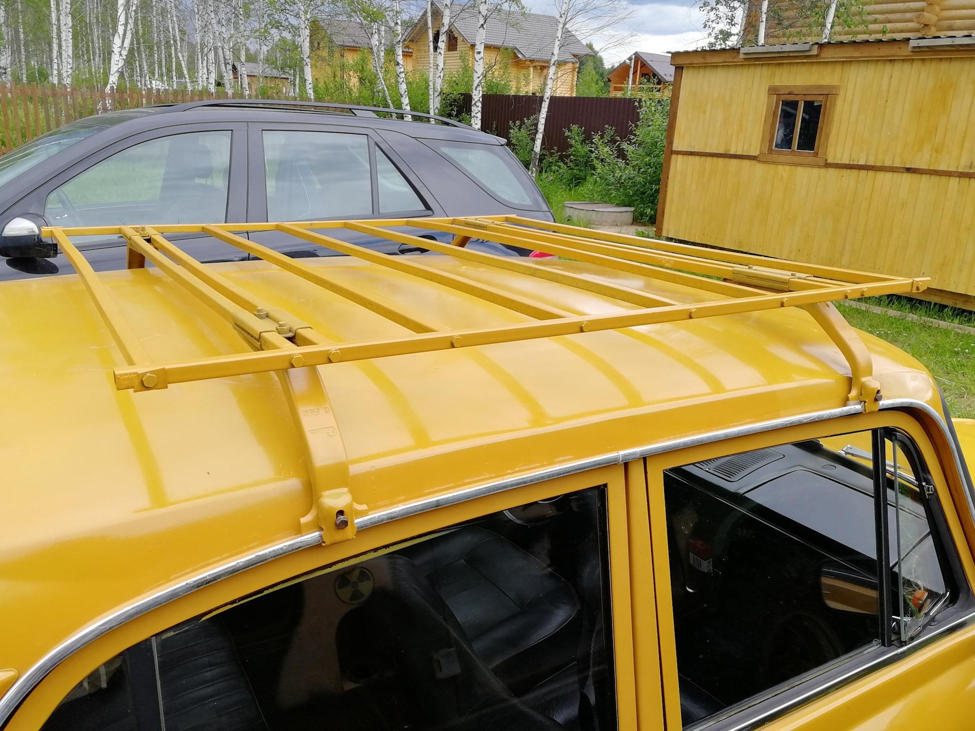 Багажник на советский авто