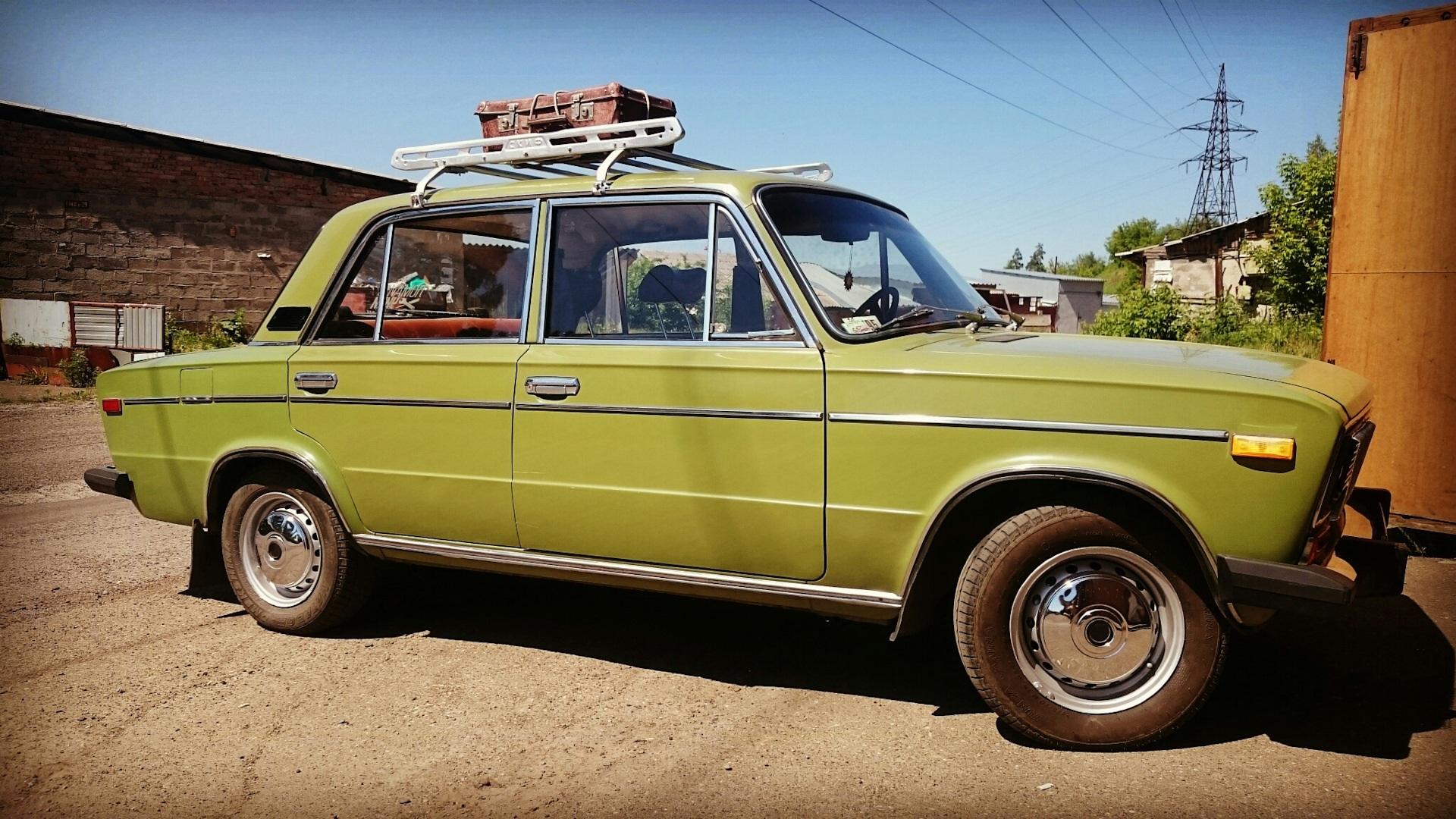 Багажник на старый автомобиль
