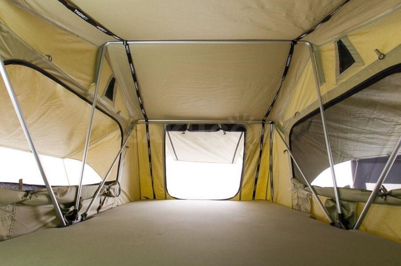 Багажник-палатка для авто своими руками