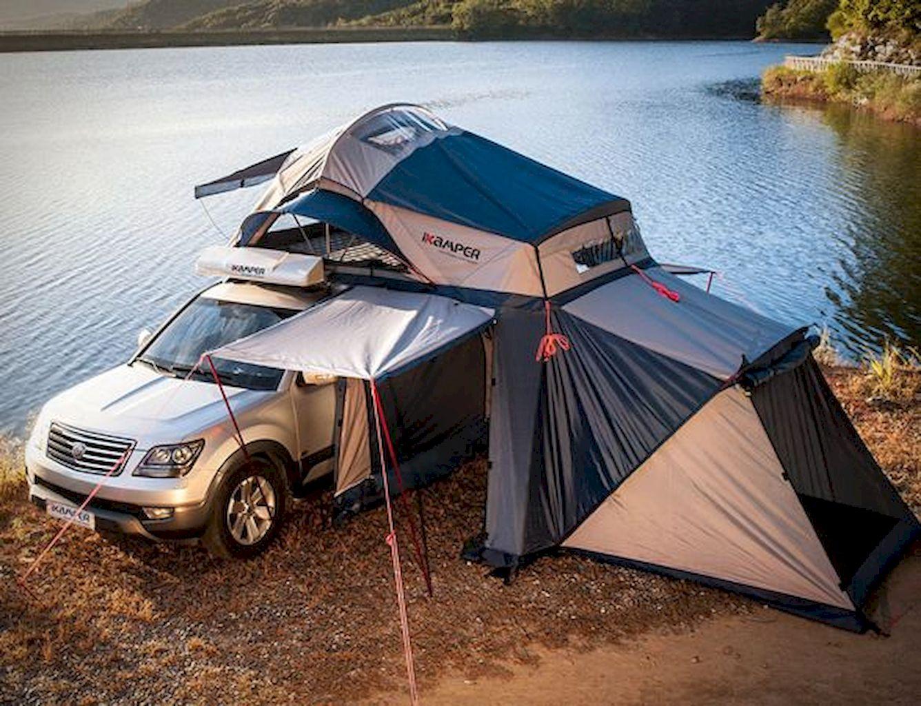 Багажник-палатка для авто