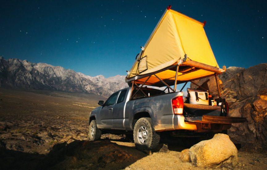 Багажник-палатка на крышу автомобиля