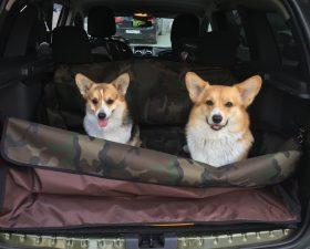 Чехол для перевозки собак в багажнике автомобиля