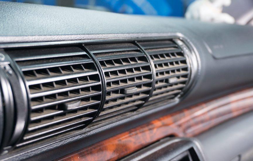 Чистить дефлектор в машине