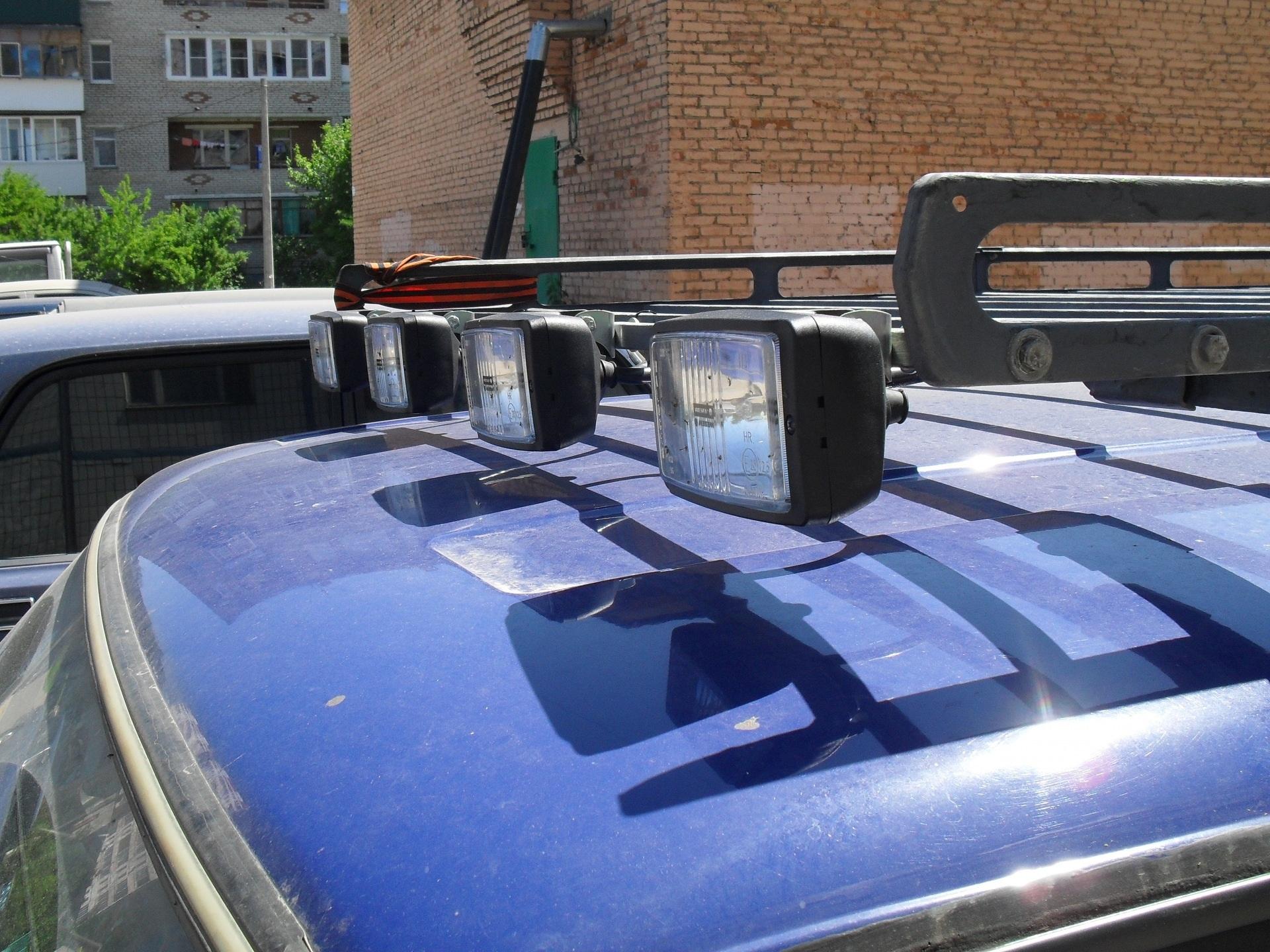Доп свет в багажник автомобиля
