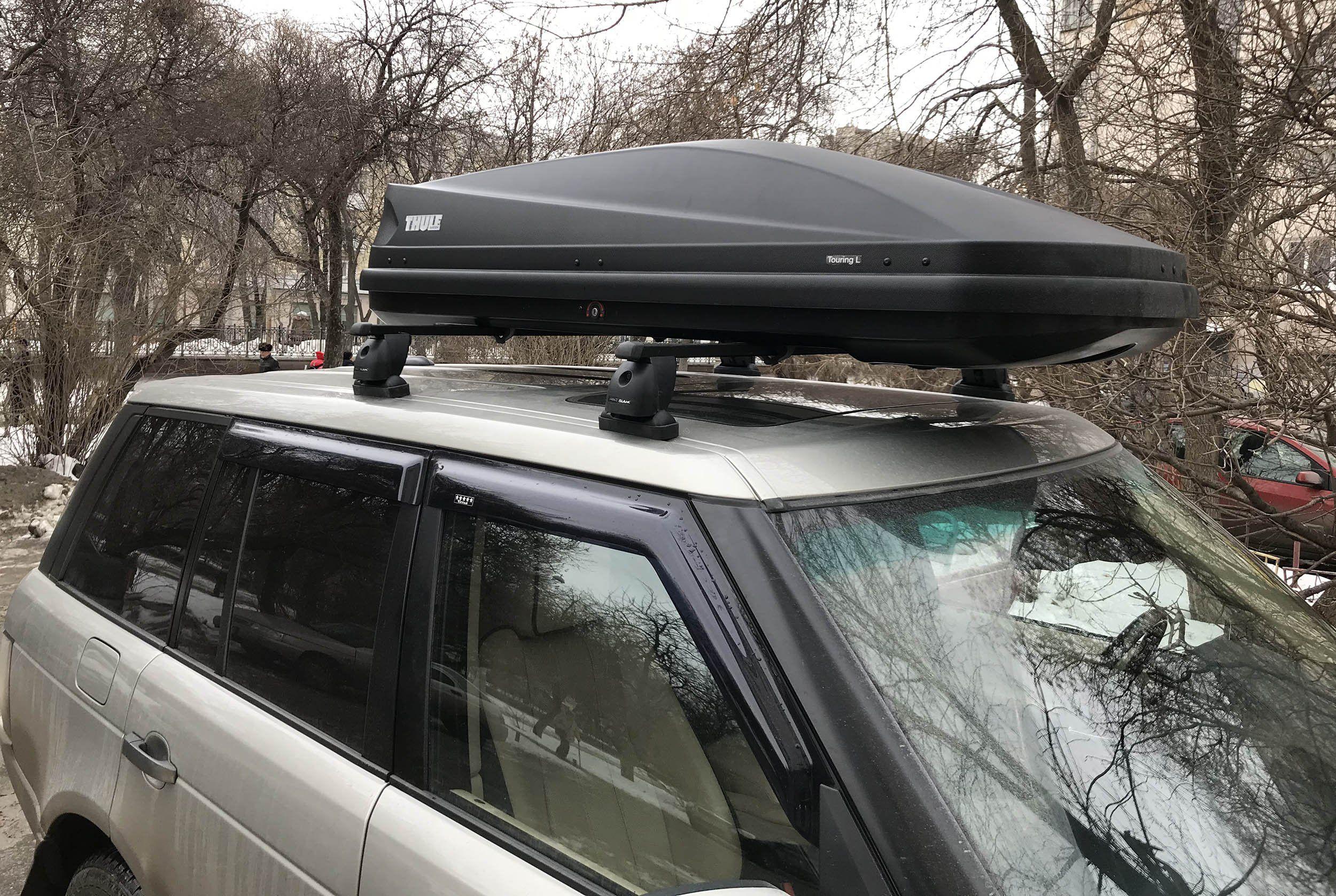 Функция автобагажника на крыше